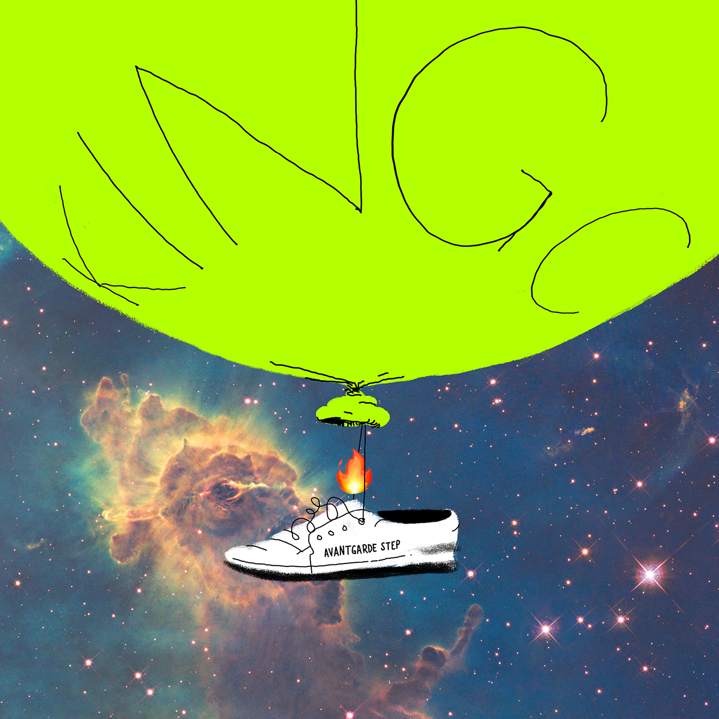 Albumcover Avantgarde Step, KING C