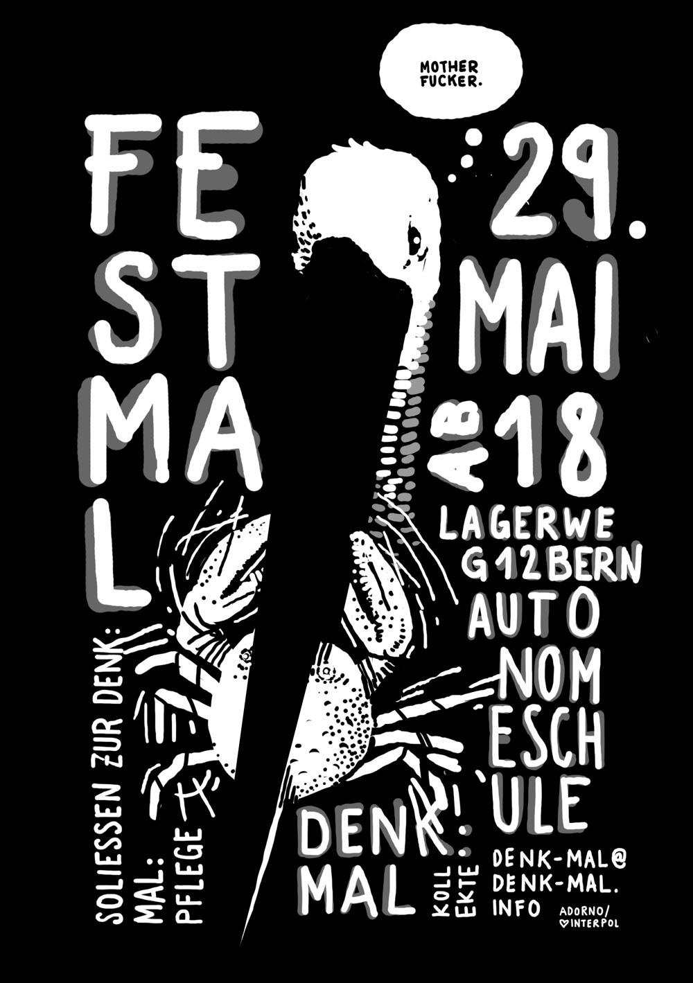 Flyer Fest:Mal, Krebs Motherfucker