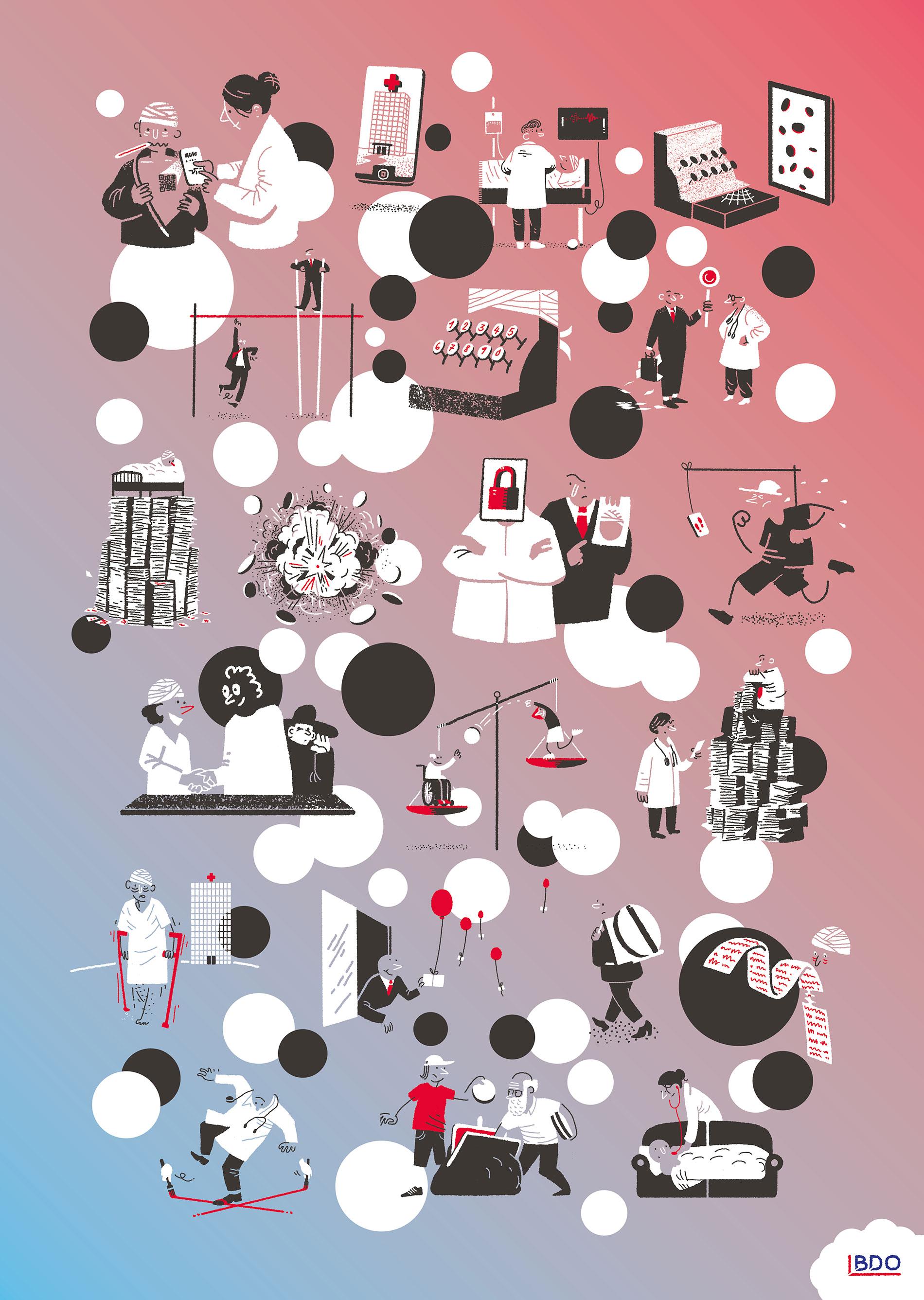 Tagung Trends und Herausforderungen im Gesundheitswesen, Krankenkassen Krankenversicherung, für BDO Schweiz