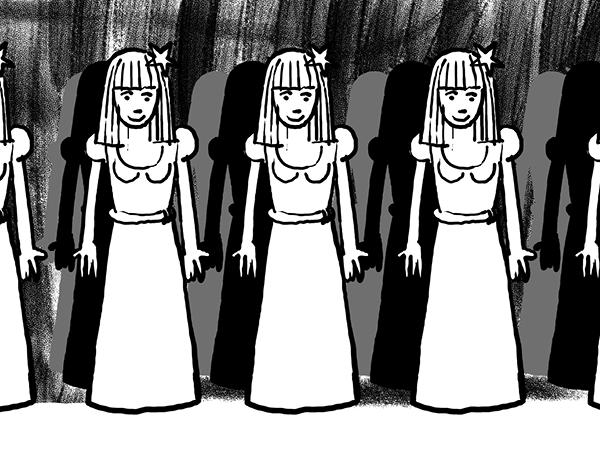 Bild aus Storyboard, Viele Prinzessinnen