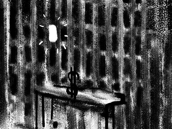 Bild aus Storyboard, Licht geht an